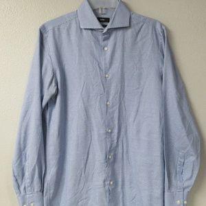 Hugo Boss Mark US Sharp Fit Blue 15 32/33 Shirt